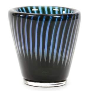 Vase, Art Glass Signed Orrefors