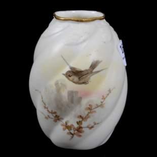 Vase Signed Royal Worcester