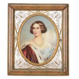 Framed Miniature Painting