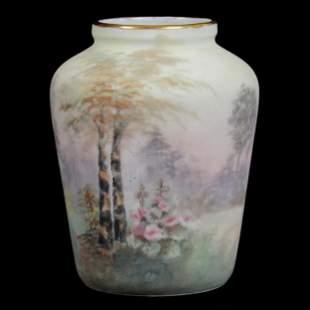 Vase Marked C.T. Silesia
