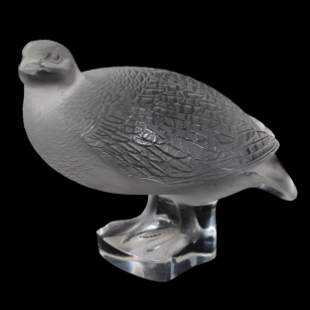 Glass Figure Signed Lalique France