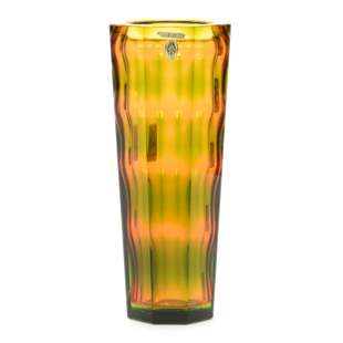 Vase, Contemporary Art Glass, Unmarked Russian