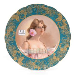 Plate Marked Sevres