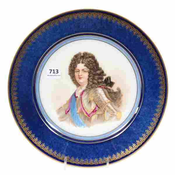 Plate, Unmarked Limoges
