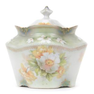 Biscuit Jar Marked R. S. Prussia
