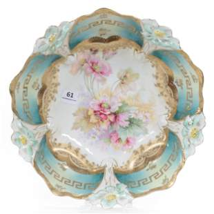 Bowl, Crown Mark, Lily Mold