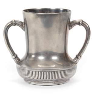 Victorian Silverplate Vase Marked Rogers #174
