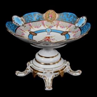 Compote Marked Limoges (Modern) Porcelain