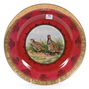 Plate Marked Bavaria Germany