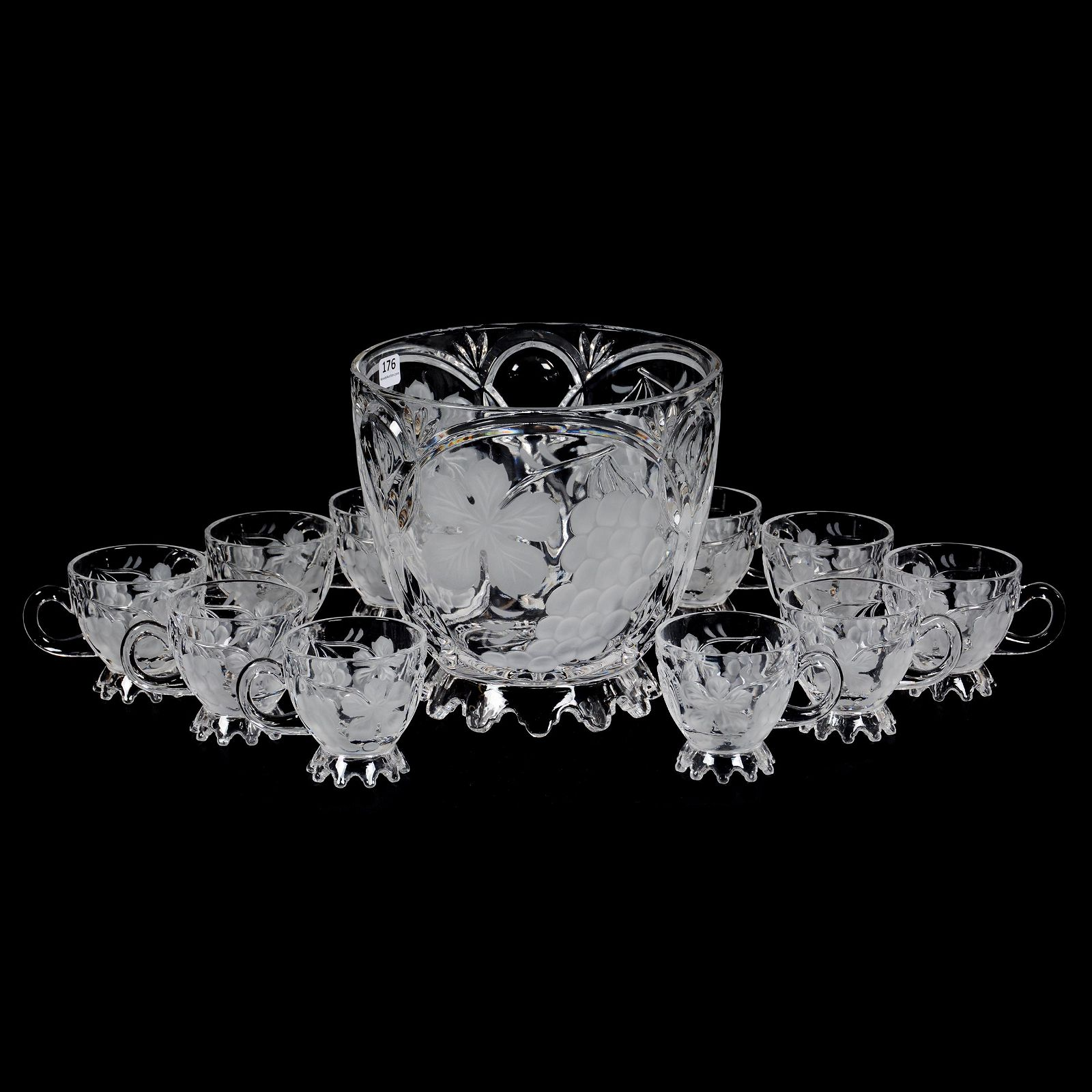 Punch Set, Modern Crystal