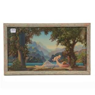 "Framed Print, Titled ""Love's Paradise"" Atkinson Fox"
