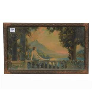 """Framed Print, Titled """"Sunset Dreams"""" By Atkinson Fox"""