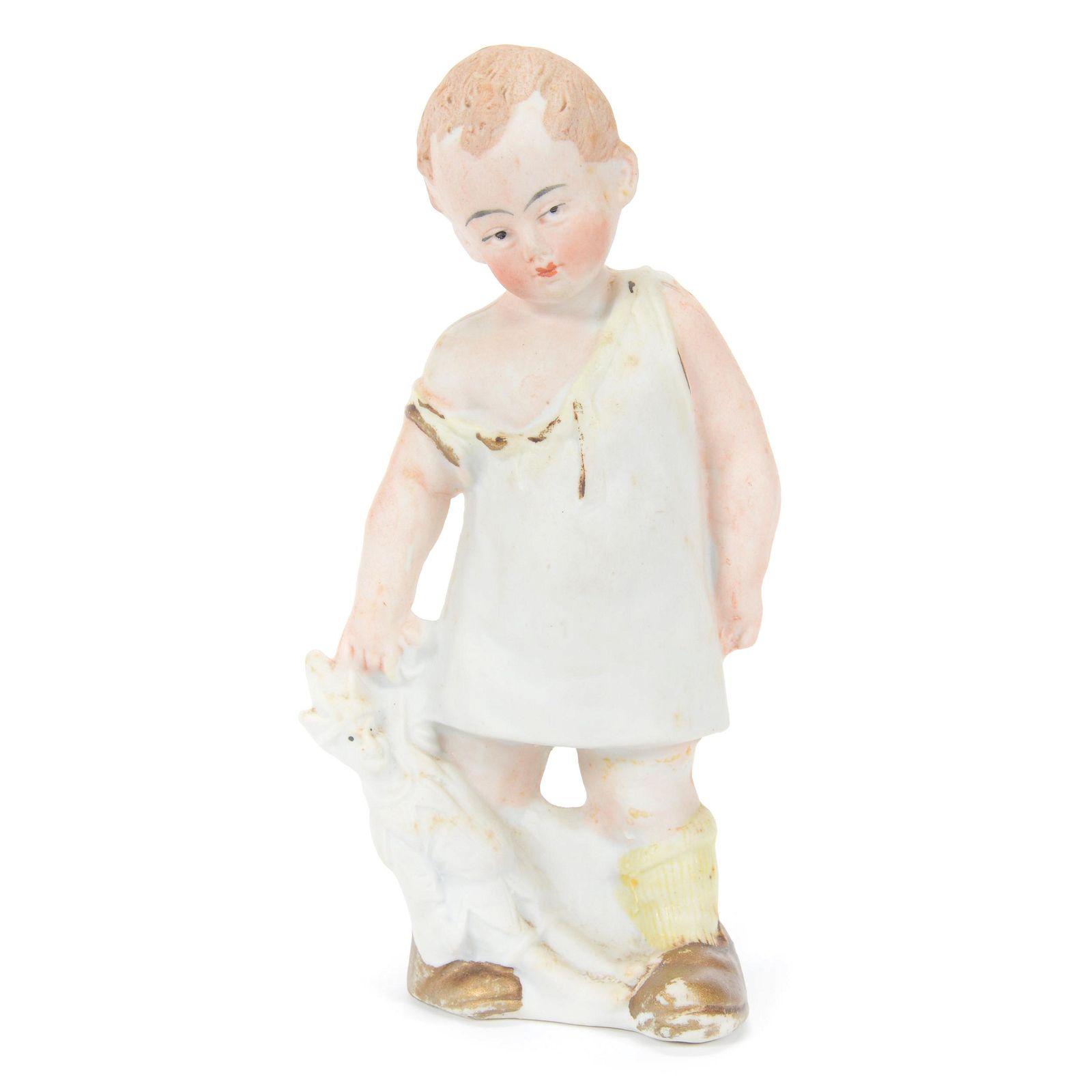 Figurine, Unmarked German Bisque