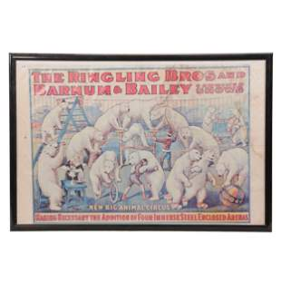 Ringling Brothers/Barnum & Bailey Circus Poster