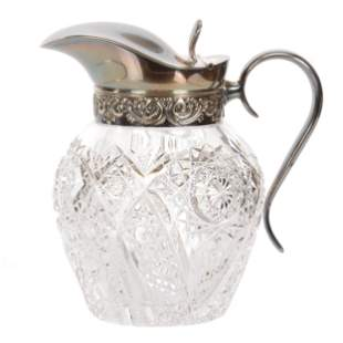 Syrup Pitcher, ABCG, Venetian Pattern By Hawkes