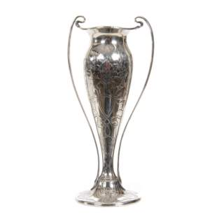 Sterling Silver Tiffany Vase, Two Handles