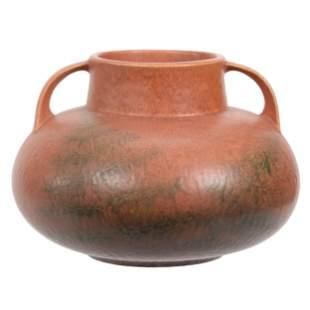 Vase, Unmarked Roseville Art Pottery