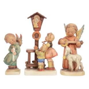 (3) Figurines, Hummel, First Mark