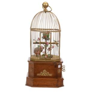 Original Mechanical Victorian Bird Cage