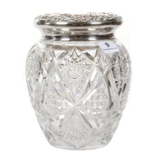 Covered Jar, ABCG, Wales Pattern By Straus
