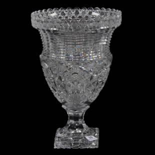Pedestal Vase, ABCG, Urn Shape, Attributed To Elmira