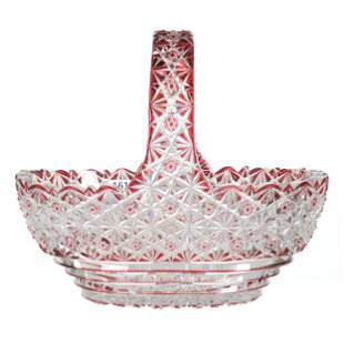 Basket, BPCG, Cranberry Cut To Clear