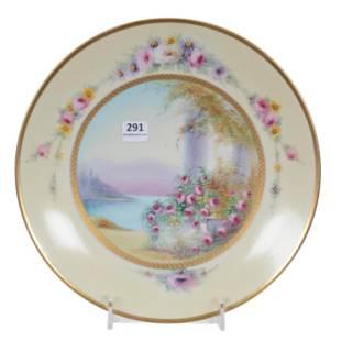 Pedestal Cake Plate, Pickard Mark #10