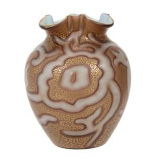 Vase, Unmarked Loetz Federzeichnung Pattern