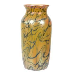 Vase, Signed Durand Art Glass