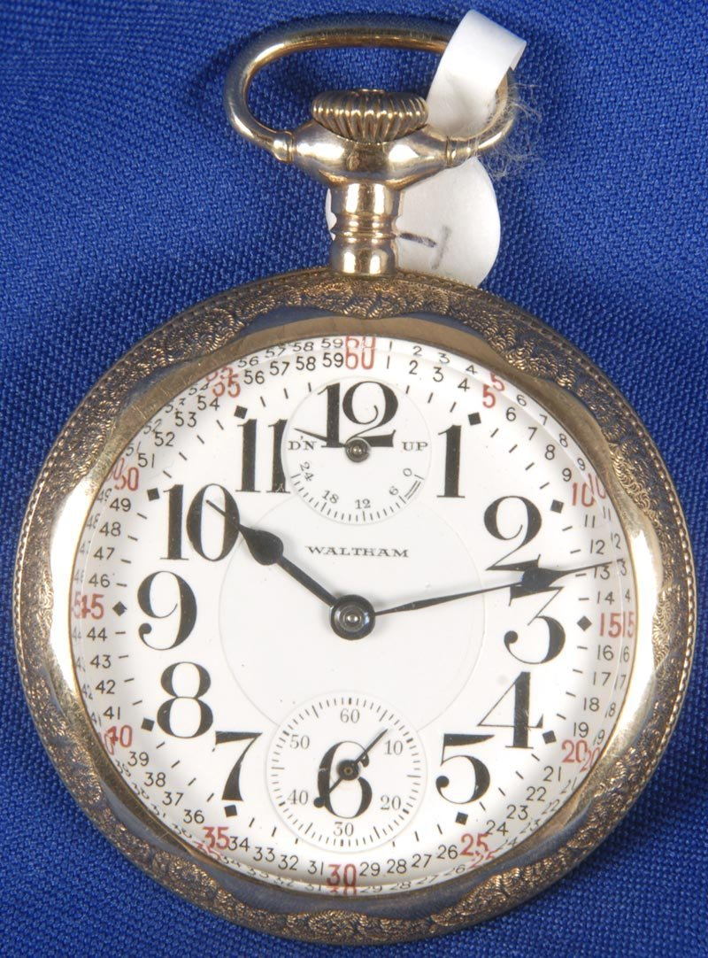 1: 16 SIZE WALTHAM VANGUARD 23 JEWEL POCKET WATCH