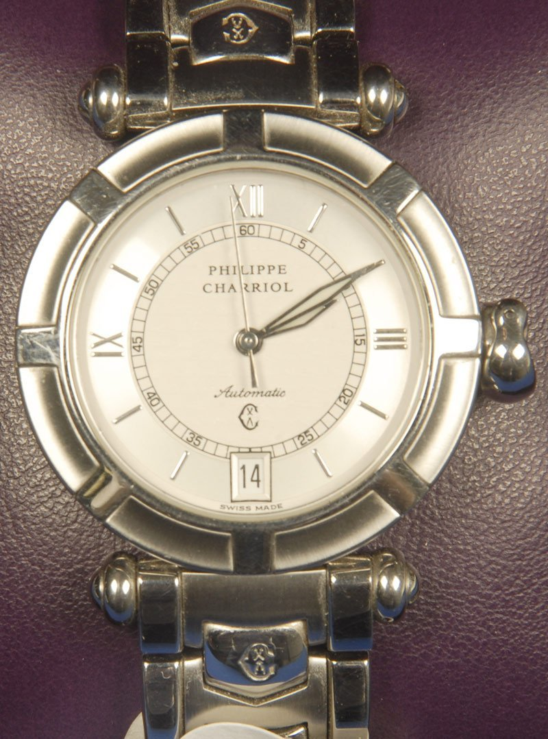 169: PHILIPPE CHARRIOL AUTOMATIC MENS WRIST WATCH