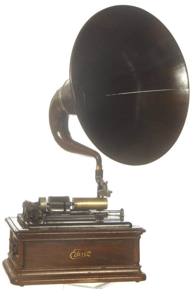 "50: 36"" EDISON ""OPERA"" MODEL A PHONOGRAPH CYLINDER PLAY"