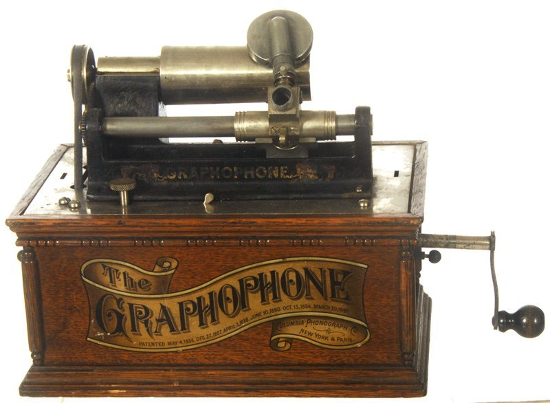 """110: COLUMBIA """"GRAPHOPHONE"""" PHONOGRAPH CYLINDER PLAYER"""