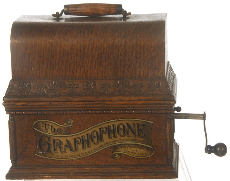 """110: COLUMBIA """"GRAPHOPHONE"""" PHONOGRAPH CYLINDER PLAYER - 2"""
