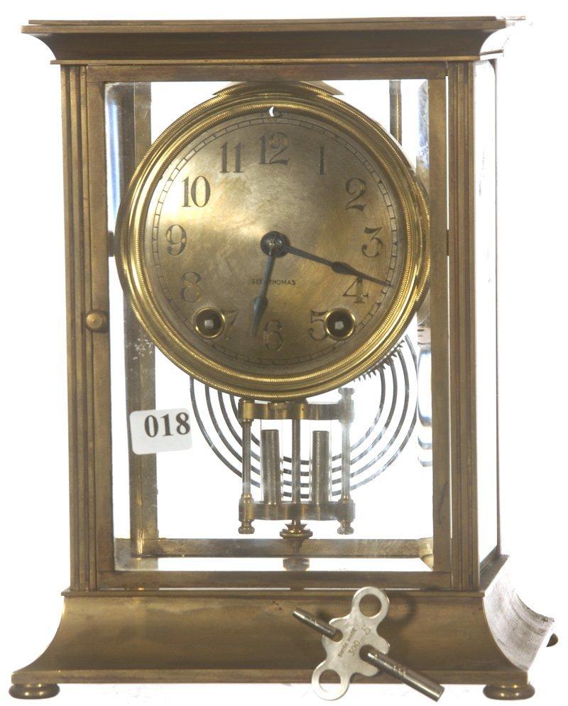 "9 1/2"" SETH THOMAS ANNIVERSARY CLOCK"