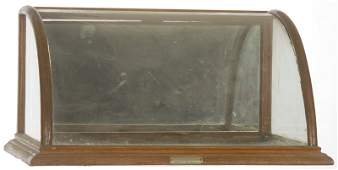 9 X 17 CURVED FRONT DISPLAY CABINET
