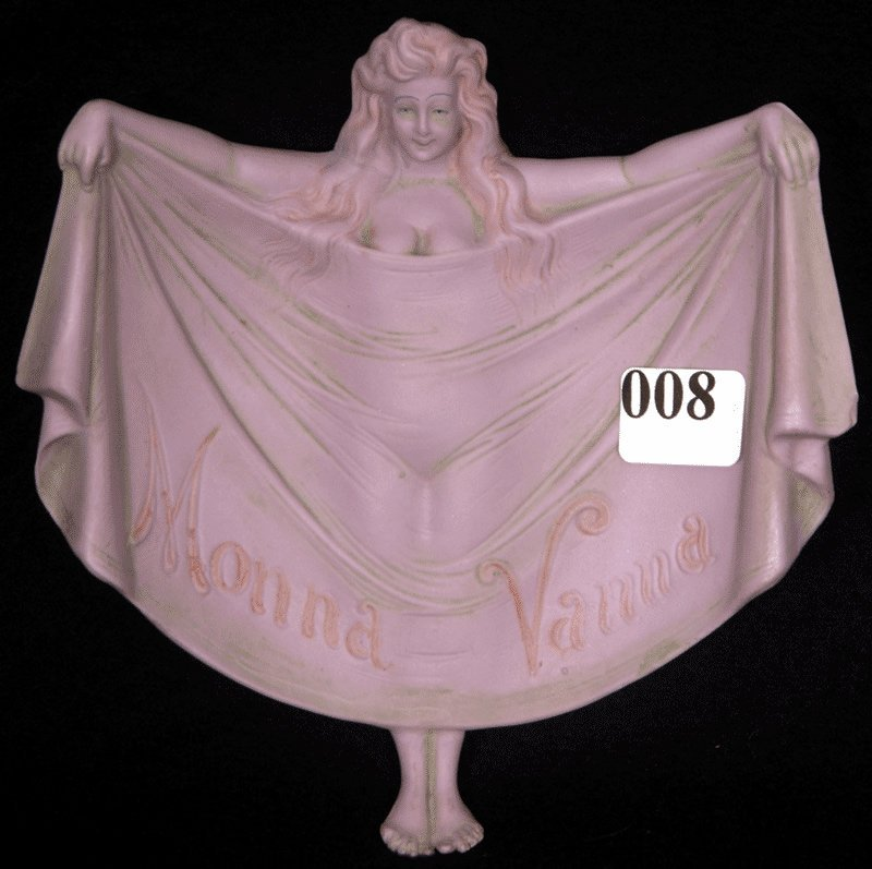 """5 1/2"""" X 5 1/2"""" UNMARKED SCHAFER AND VATER FIGURAL TRAY"""