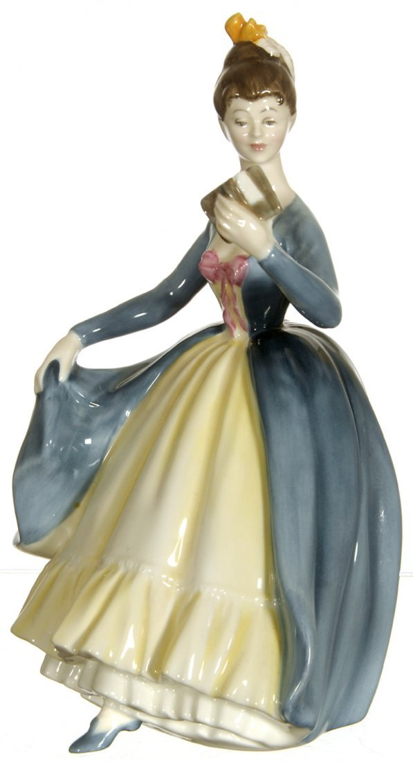 "8"" ROYAL DOULTON ""LEADING LADY"" FIGURINE"