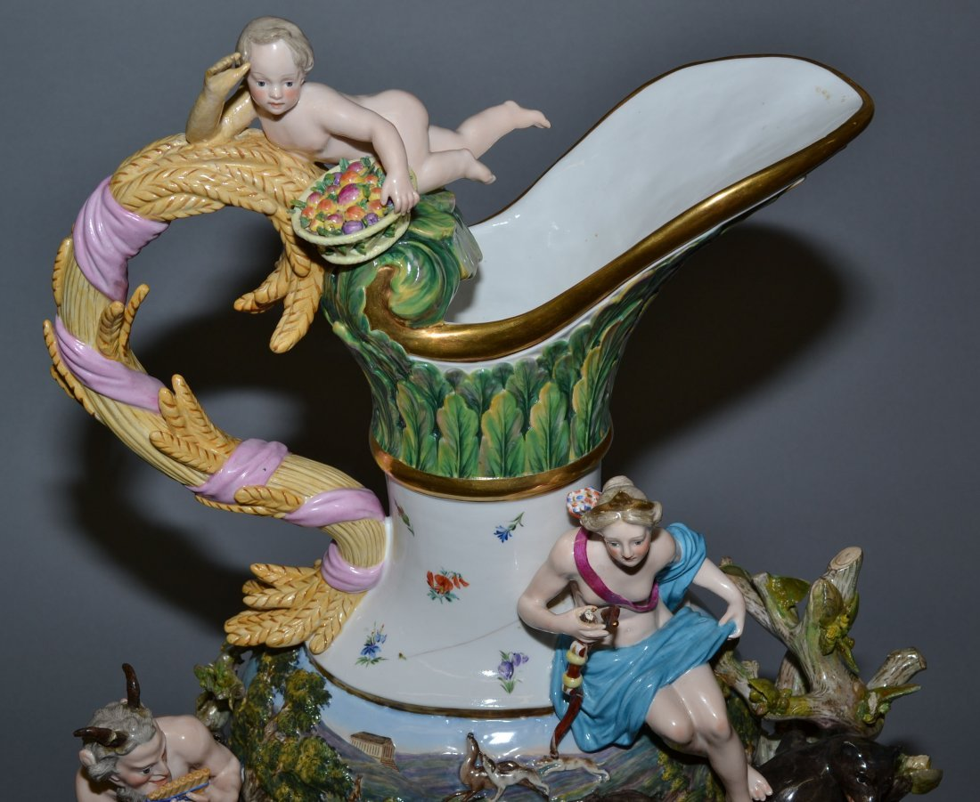 MEISSEN ELEMENTAL SERIES - MUSEUM QUALITY SET OF (4) - 2