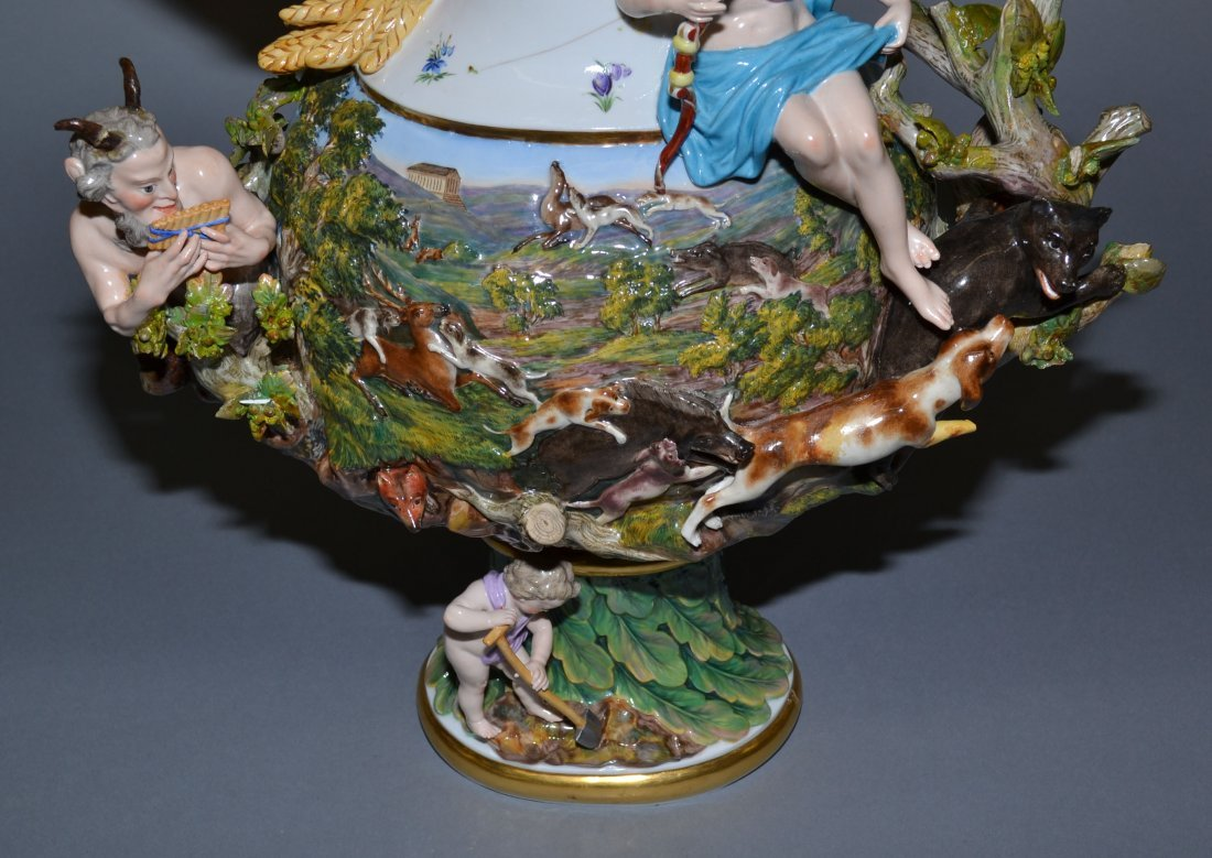 MEISSEN ELEMENTAL SERIES - MUSEUM QUALITY SET OF (4) - 3