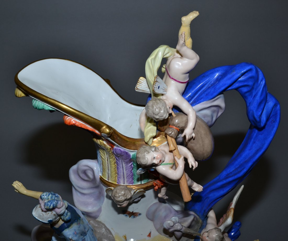 MEISSEN ELEMENTAL SERIES - MUSEUM QUALITY SET OF (4) - 4