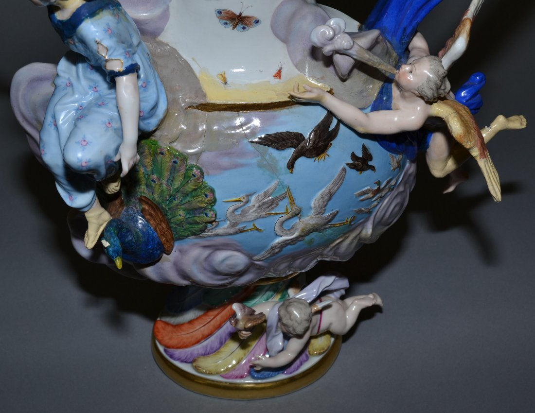 MEISSEN ELEMENTAL SERIES - MUSEUM QUALITY SET OF (4) - 5