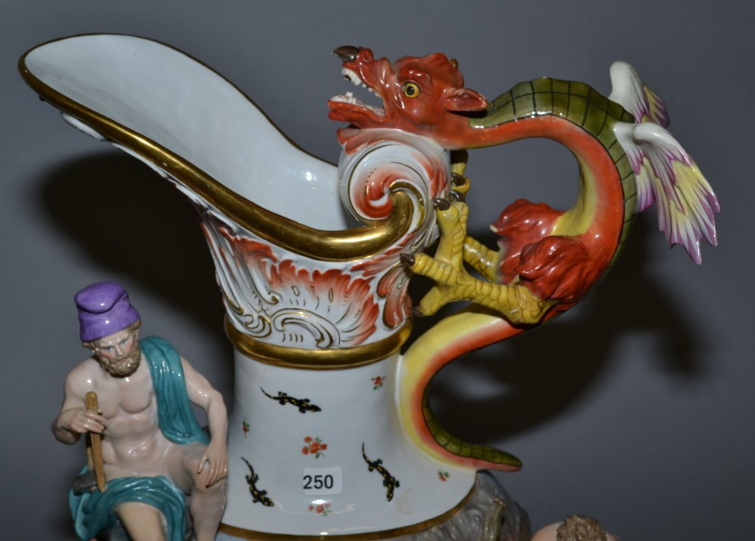 MEISSEN ELEMENTAL SERIES - MUSEUM QUALITY SET OF (4) - 6