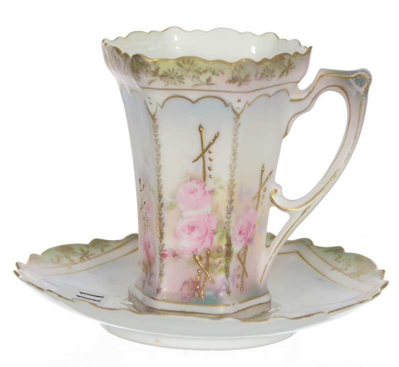RSP CUP AND SAUCER