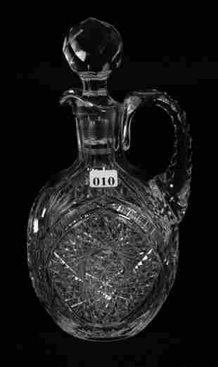 """DECANTER, OVAL, HANDLED, 10 1/2"""", ABCG"""