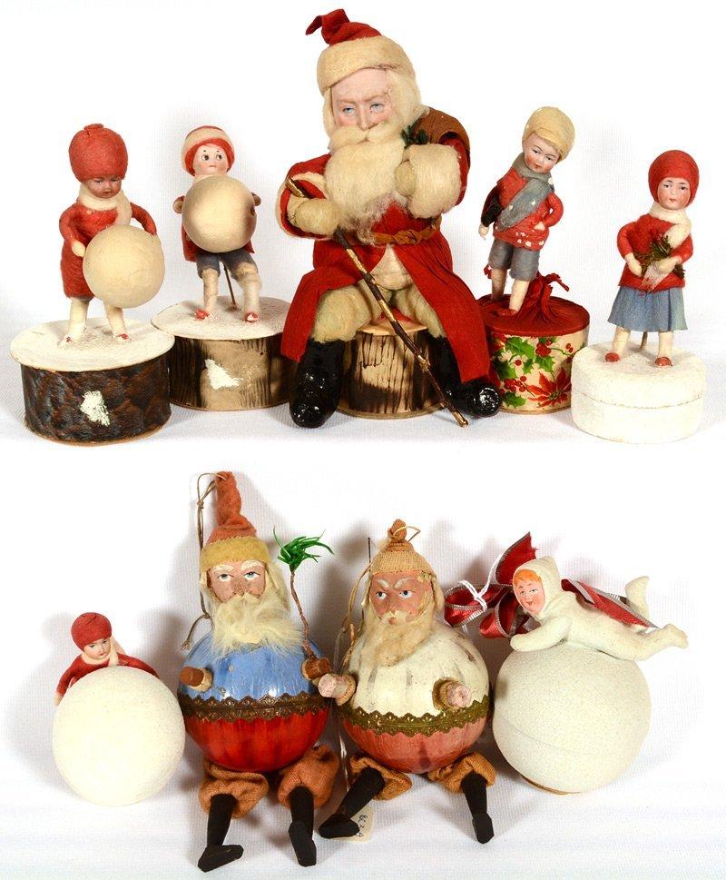 (9) VINTAGE CHRISTMAS ITEMS
