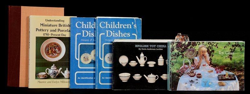 (5) BOOKS AND (1) CHILDHOOD TREASURES BINDER