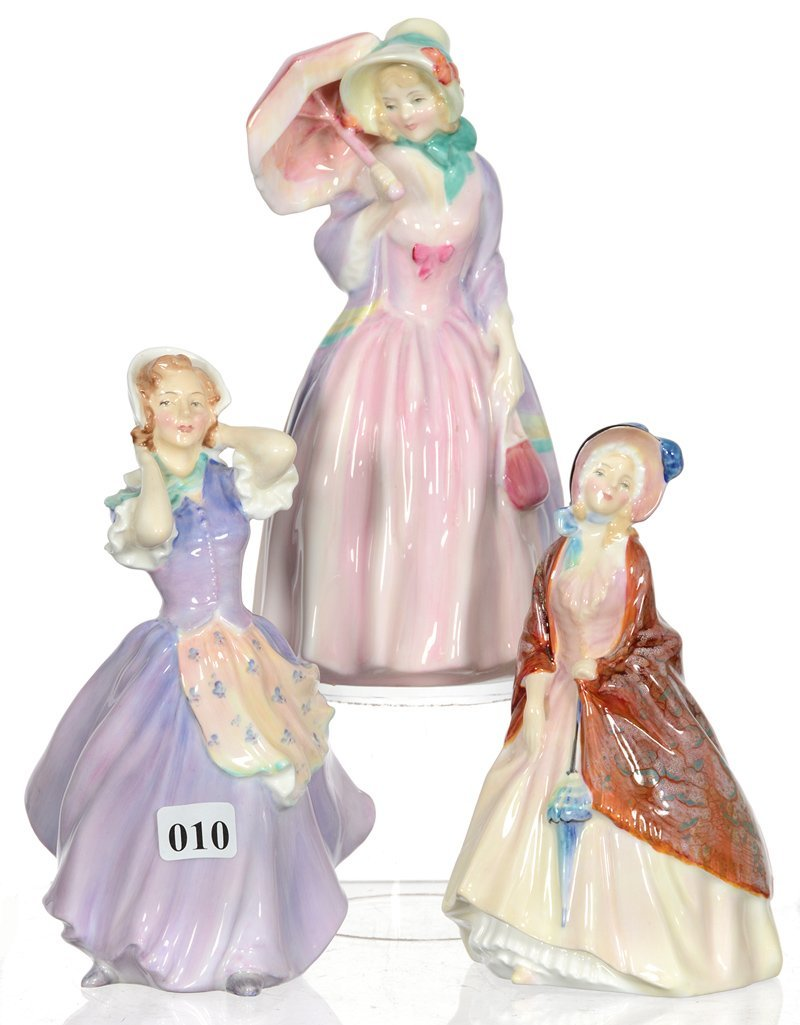 (3) ROYAL DOULTON FIGURINES
