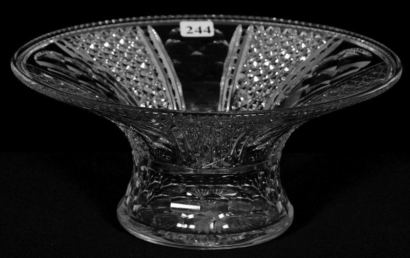 """BOWL, FLARED - 4 1/4"""" X 9 1/2"""" - SIGNED HAWKES KOHINOOR"""