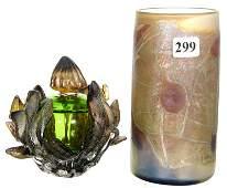 2 CONTEMPORARY ART GLASS ITEMS